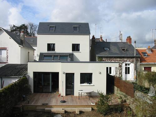Architecte maison nantes extension maison maison nantes for Acheter une maison a nantes